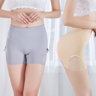 【3 pack】Japan thin breathable sexy safety pants summer anti-glare butterfly lace seamless leggings