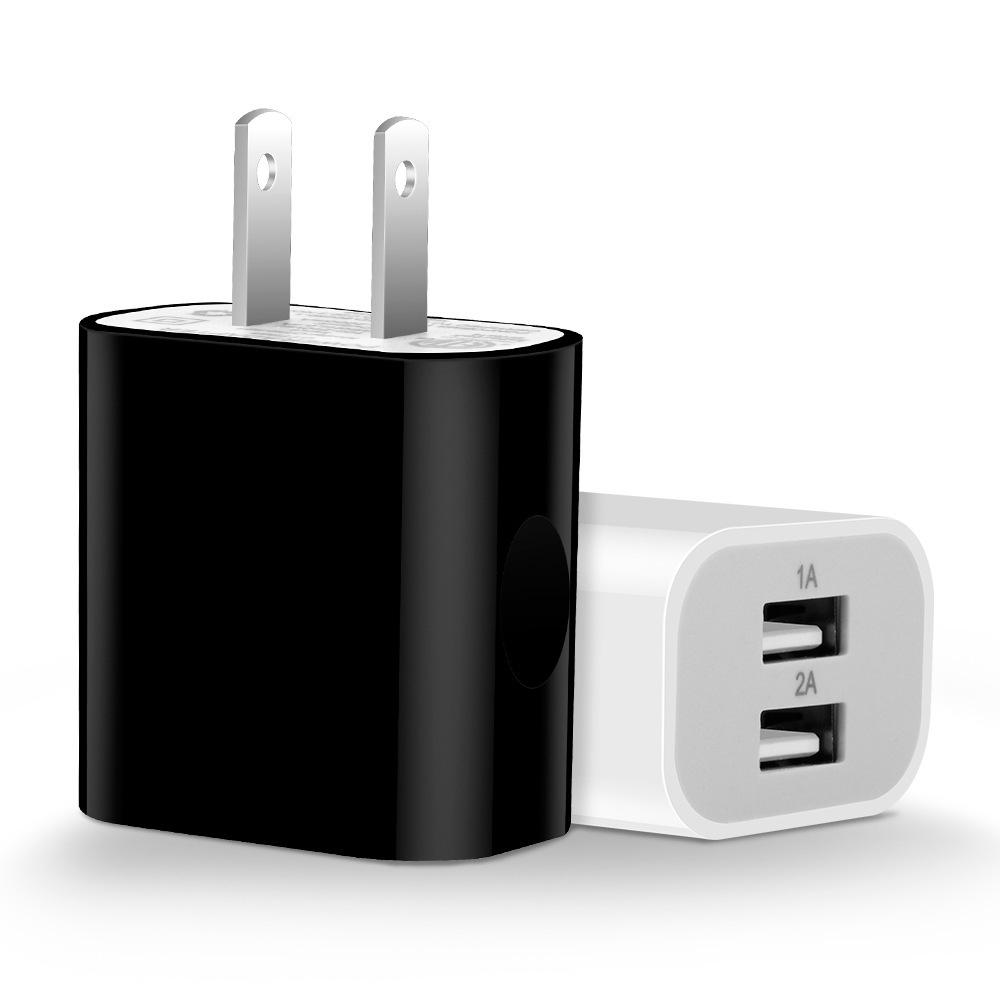 ETL/UL双USB美规2.1A手机充电器 智能识别手机数码设备快速充电器
