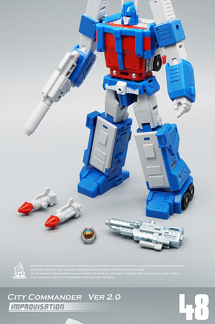 NEW MFT MF-48 Ultra Magnus Ver 2.0 IDW Transformers City Commander Toys In stock