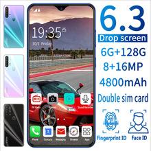 跨境专供 新款P37安卓智能手机批发 一体机6.3寸18:9大屏八核双卡