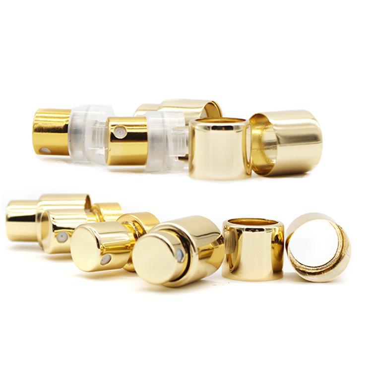 厂家15牙塑料卡口喷头新款电化铝喷头香水瓶喷头简易卡口喷头中套