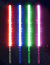 星球大战光剑 COSPLAY道具 激光剑 超高亮LED荧光棒 可充电发光剑