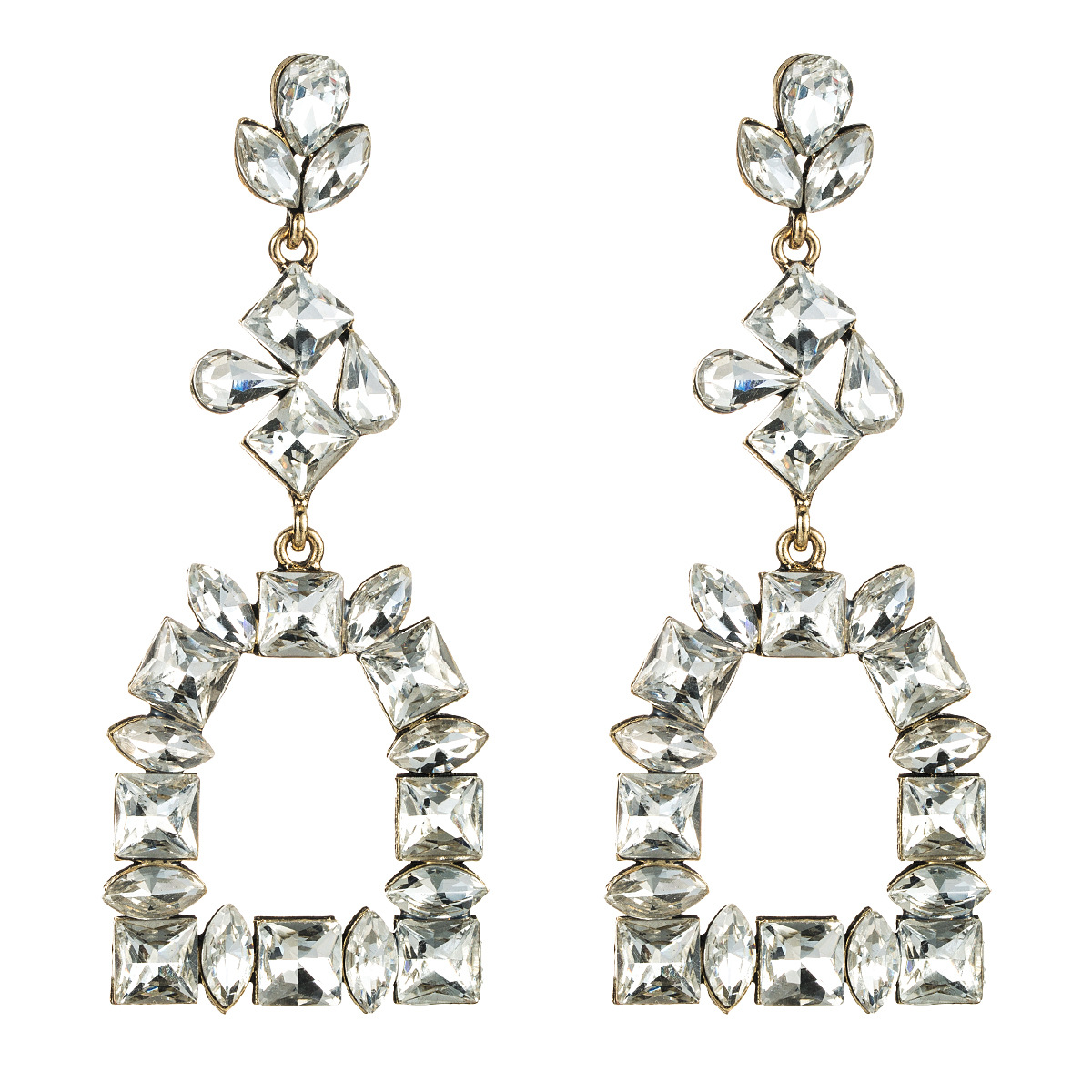 Colored Diamond Earrings NHJE151038