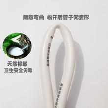 家用淋浴浴室花洒热水器软管洗澡喷头PVC塑料橡胶出水管日皇1.5米