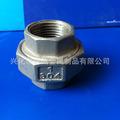 批量供应优质 不锈钢201、304丝口活接  厂家直销  质量保证