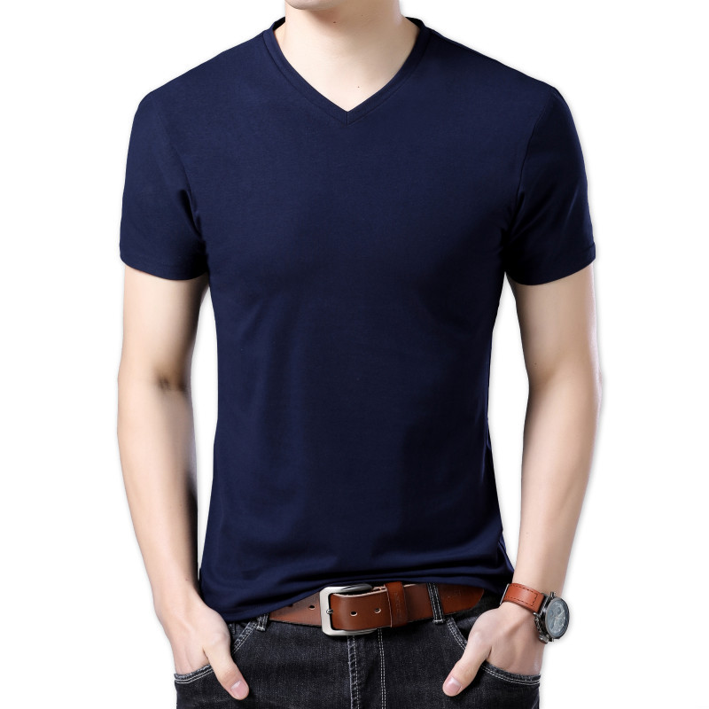 T-shirt homme - Col rond - Ref 3409000 Image 5