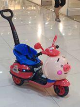 儿童电动摩托车宝宝三轮手推车充电式可坐玩具车