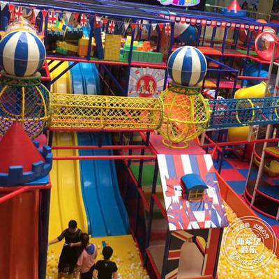 大型多层淘气堡弹性迷宫 室内商场中庭高空拓展闯关乐园 游乐设备