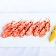 北极甜虾 头腹籽 500g 整箱5kg  进口海鲜 北极熊 基围虾 寿司