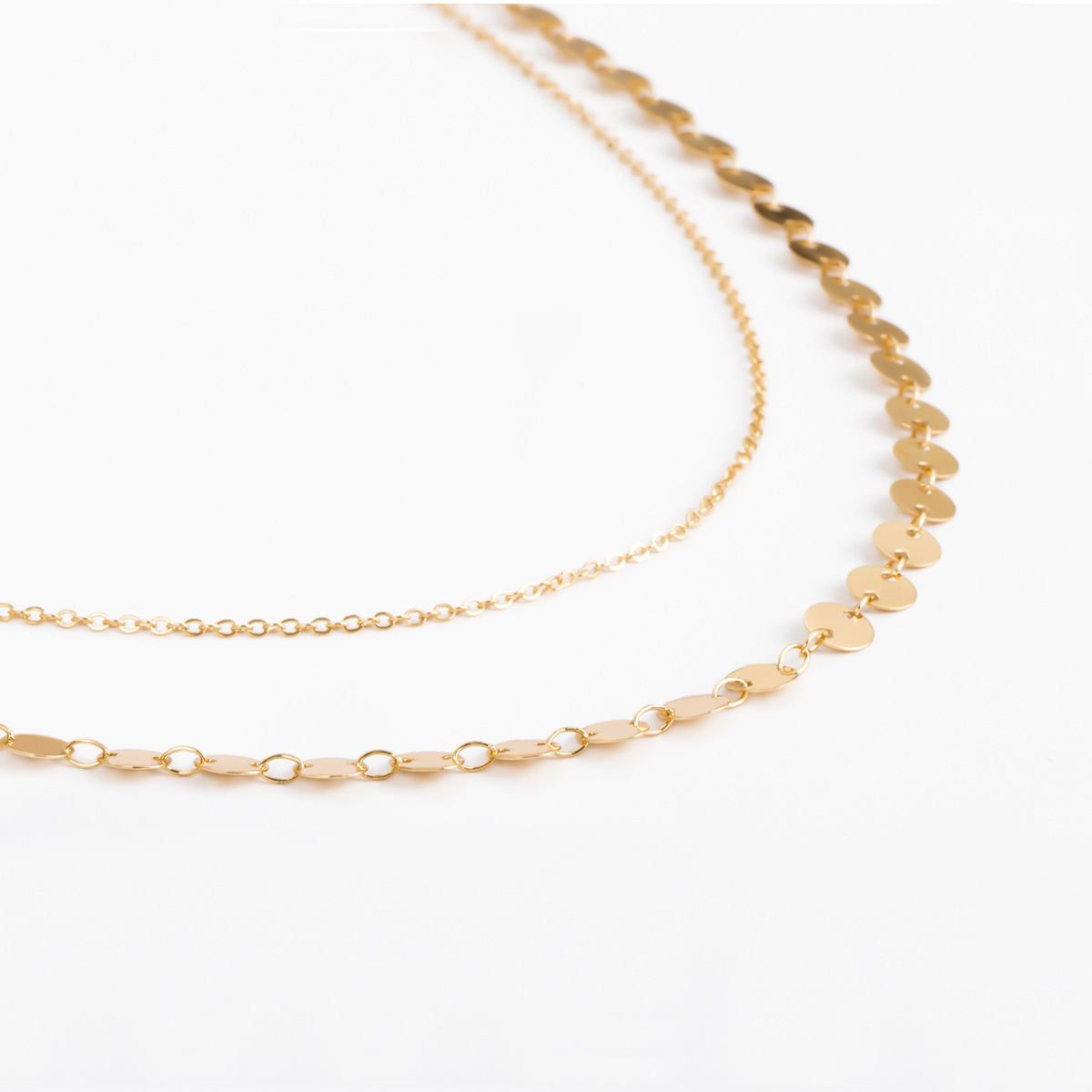 Simple and versatile sexy copper bead body chain NHXR141809
