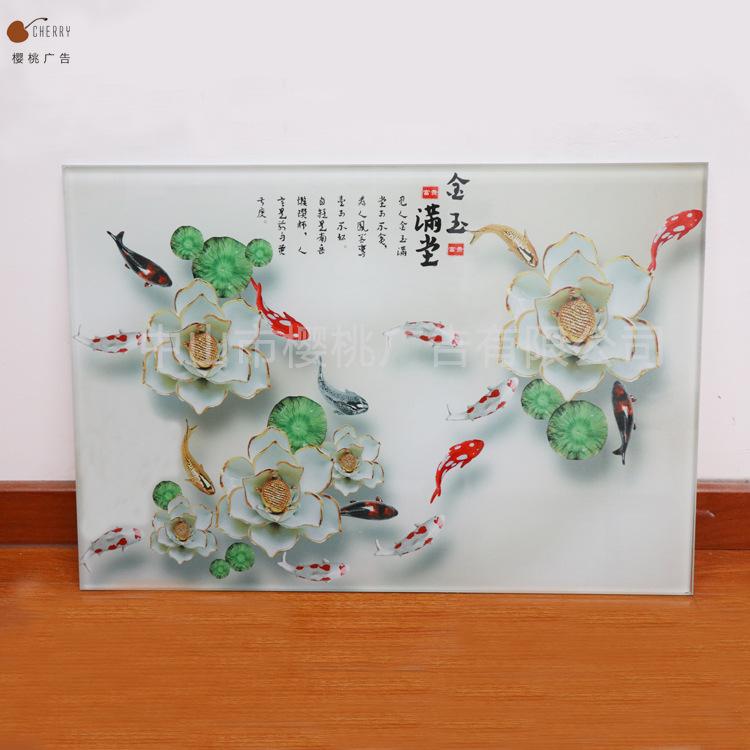 水杯化妆盒uv打印 玻璃亚克力表面加工 手机壳金属木板UV喷画加工