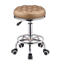 美容椅铁椅旋转升降椅高脚椅子前台铁家用圆凳金属吧椅铁凳