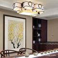 新中式吸顶灯现代简约大气家用套餐客厅卧室餐厅茶室复古铁艺灯具