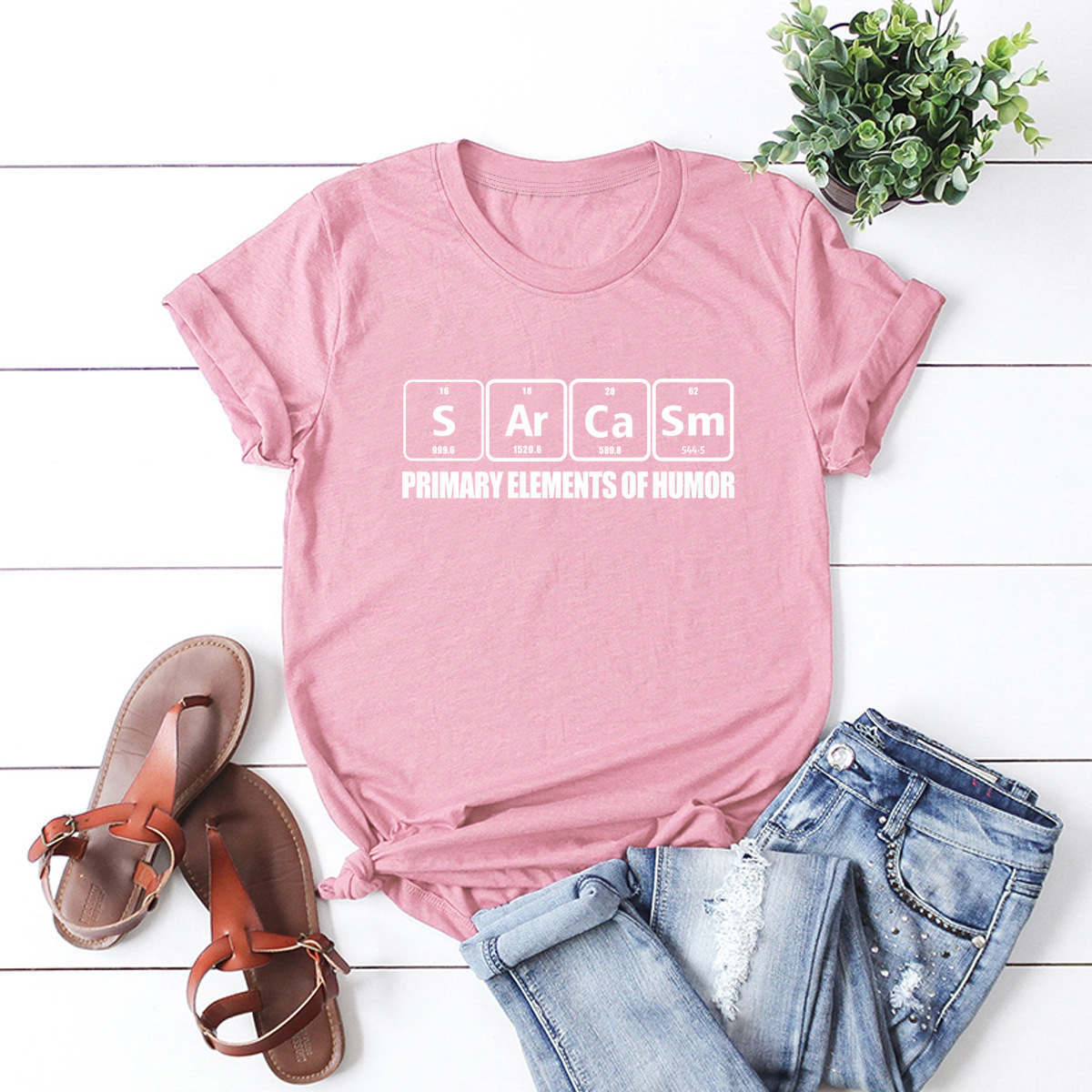 creative funny letters cartoon short-sleeved   NSSN3361