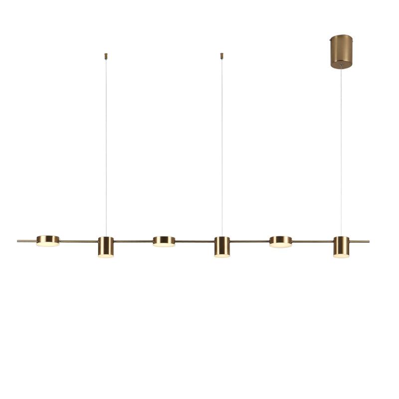 产地货源创意款现代简约餐厅灯三头长条吊灯吧台餐桌书房北欧吊灯