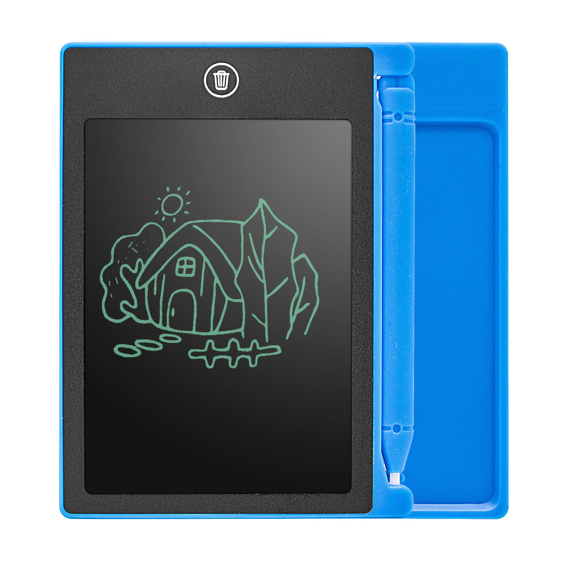 手写板 液晶手写板 儿童早教涂鸦绘画板 手绘板 4.4寸 lcd写字板