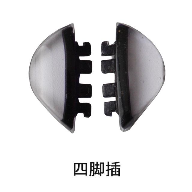 Kính phụ kiện tấm thẻ kính mũi kéo đôi ổ cắm tấm silicon kính miếng đệm mũi cắm mũi Khung