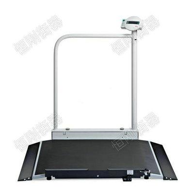 扶手带斜坡轮椅电子秤,方便病人上下秤重电子轮椅秤