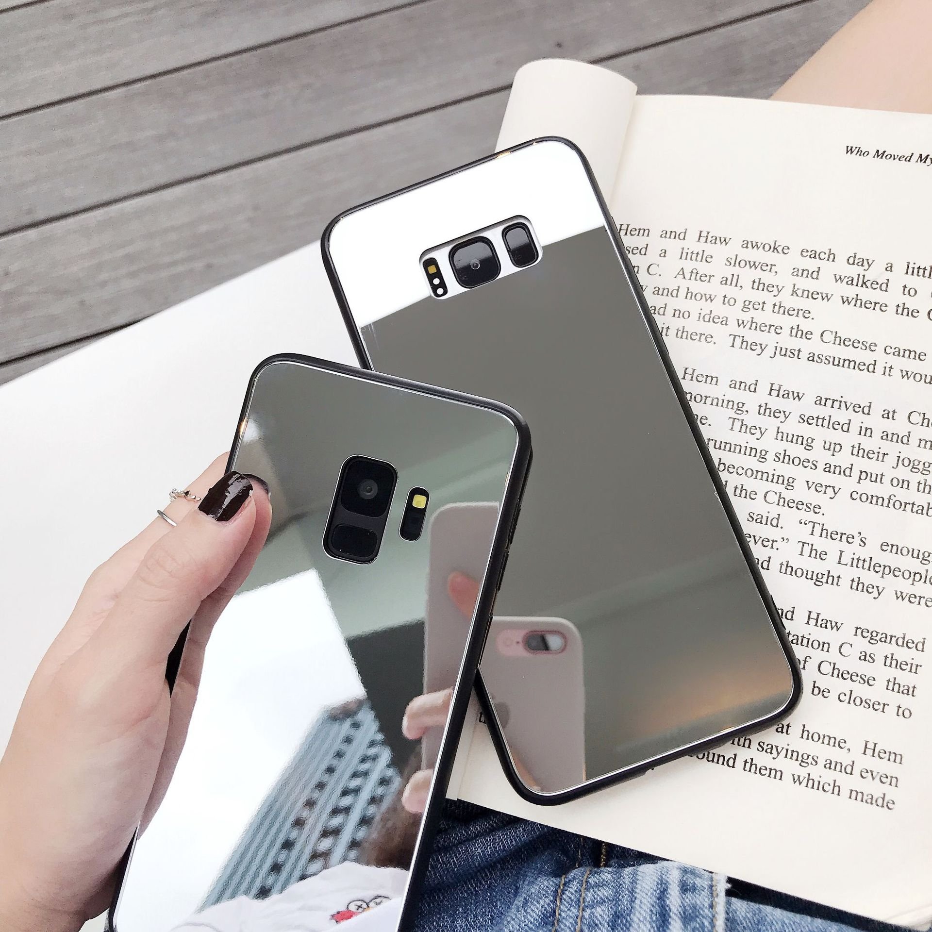 Tpu  tempered glass Phone Cases NHDV141362 For iphone