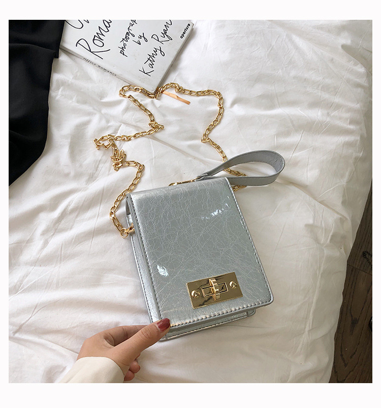 Korean version of the chain lock small square package NHLD121259