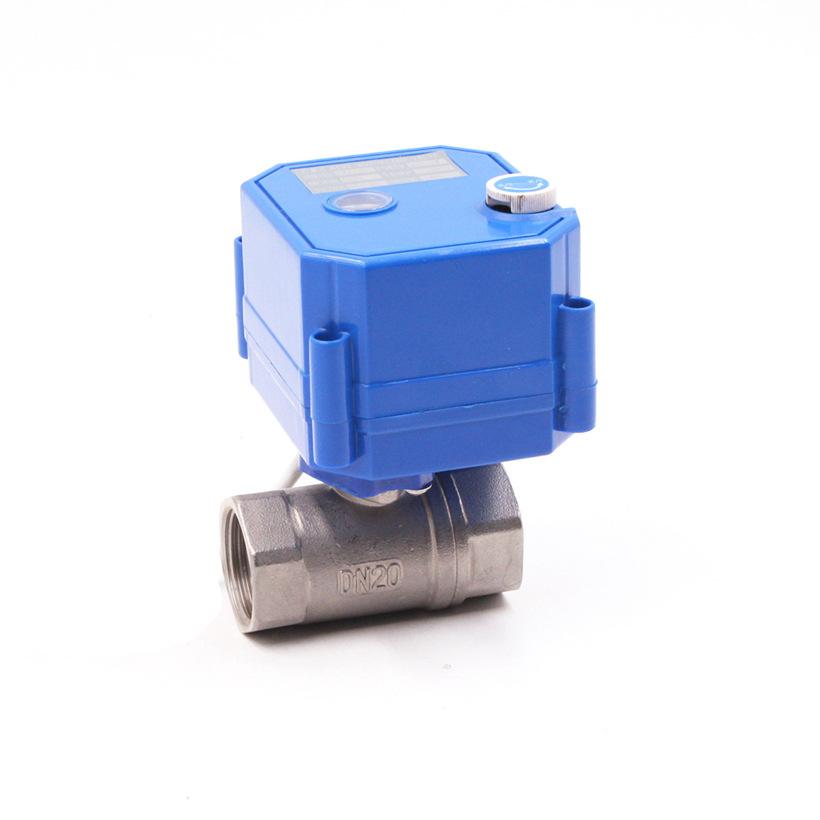 阀门厂家供应CWX-25S  DN206分不锈钢风机盘管电动阀 消防水阀