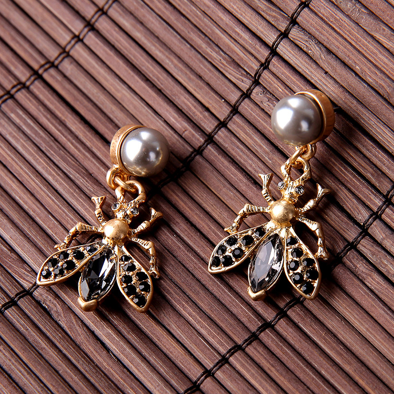 Alloy Fashion Animal earring  Photo Color  Fashion Jewelry NHQD6291PhotoColor