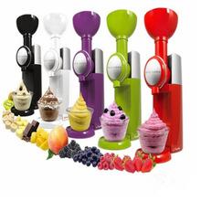 跨境货源 家用水果冰淇淋机 DIY手动自制冰淇淋  冰激凌机