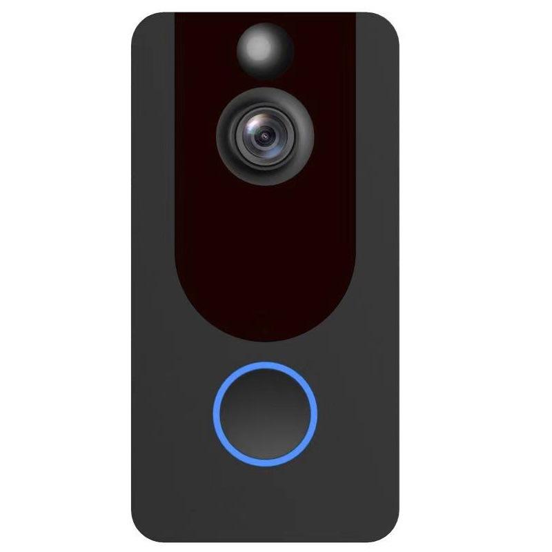 跨境1080P云存储可视门铃智能WIFI无线远程家用监控视频对讲