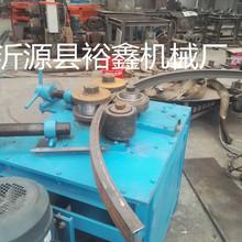 槽钢角钢内外翻卷圆设备 多功能液压卧式盘圆机 耐用大圆管弯圆机