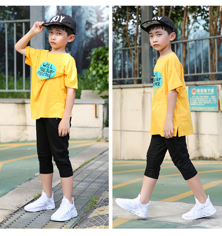 11277237970 1051559640 - Kid Running Sneakers Summer Children Sport Shoes Tenis Infantil Boy Basket Footwear Lightweight Breathable Girl Chaussure Enfant