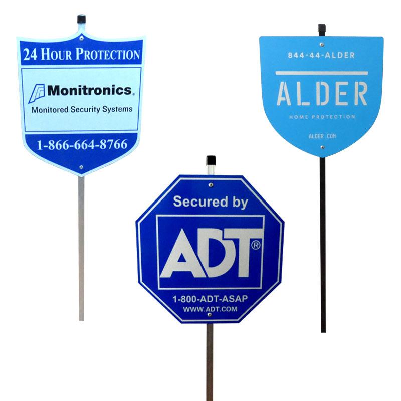 供应美国庭院指示牌 安全指示牌 塑料PS 反光材料 抗UV 耐寒