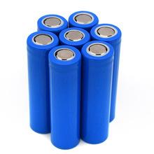 厂家热销3.7V 18650系列带防爆阀风扇电池尖头平头可充电电池