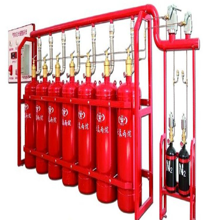 FM200船用七氟丙烷灭火装置 电启动40L*2 保护锂电池舱灭火装置