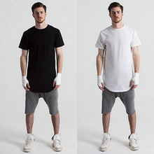 Streetwear hip hop Men loose T-shirt Short Sleeve male shirt