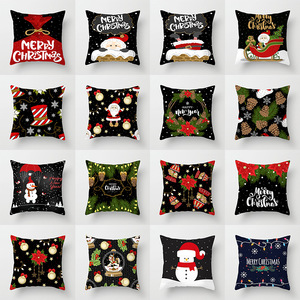 18'' Cushion Cover Pillow Case Christmas pillow cover holiday home decoration sofa pillow cover