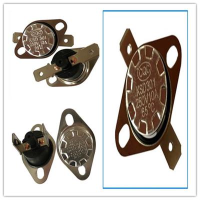 【厂家直销】专业生产供应KSD301温控器纽扣温控饮水机温控制
