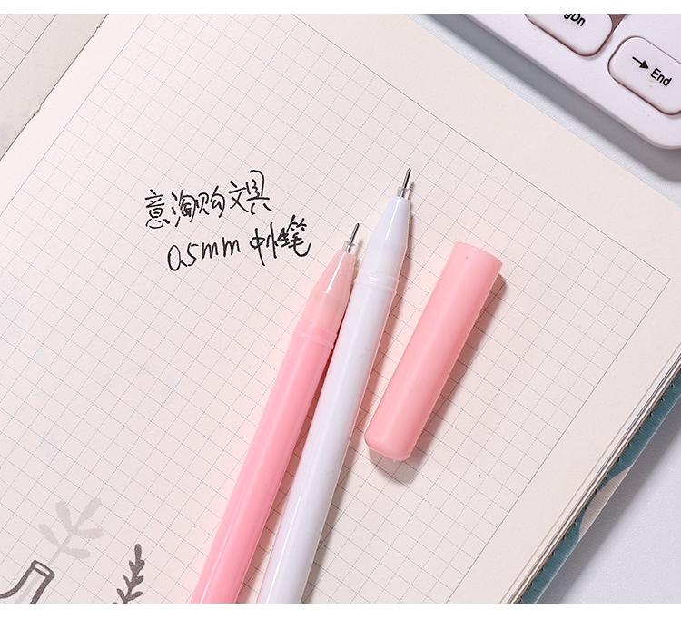 Office stationery supplies cute gel pen pen creative cartoon gel pen writing signature pen NHZE196941