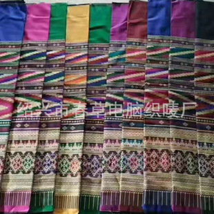 Ethnic jacquard cloth new popular style 200 batches, colors can be mixed and matched curtain stitching lace manufacturer customization