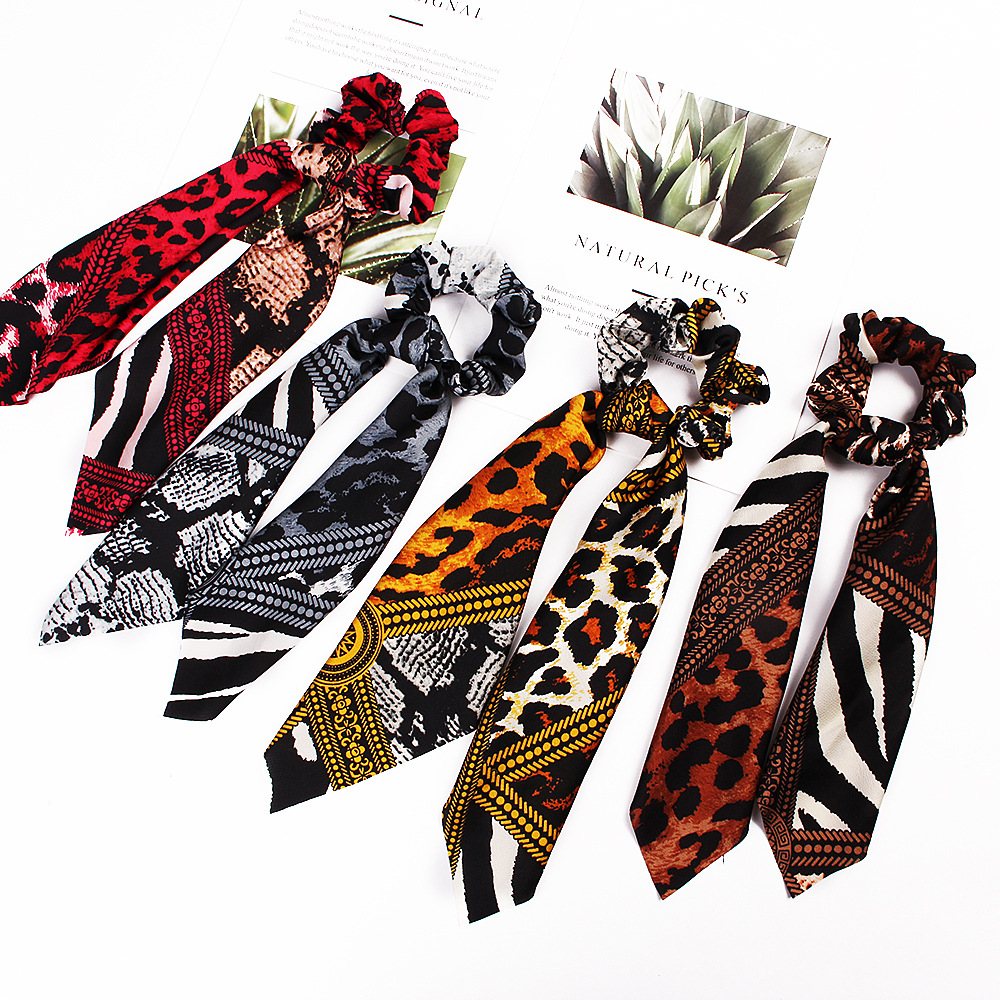 New Korean fashion butterfly tail bar ribbon cheap hair ring wholesale NHDM205042