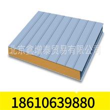 北京厂家直销彩钢板岩棉复合板彩钢活动房防火保温夹芯板