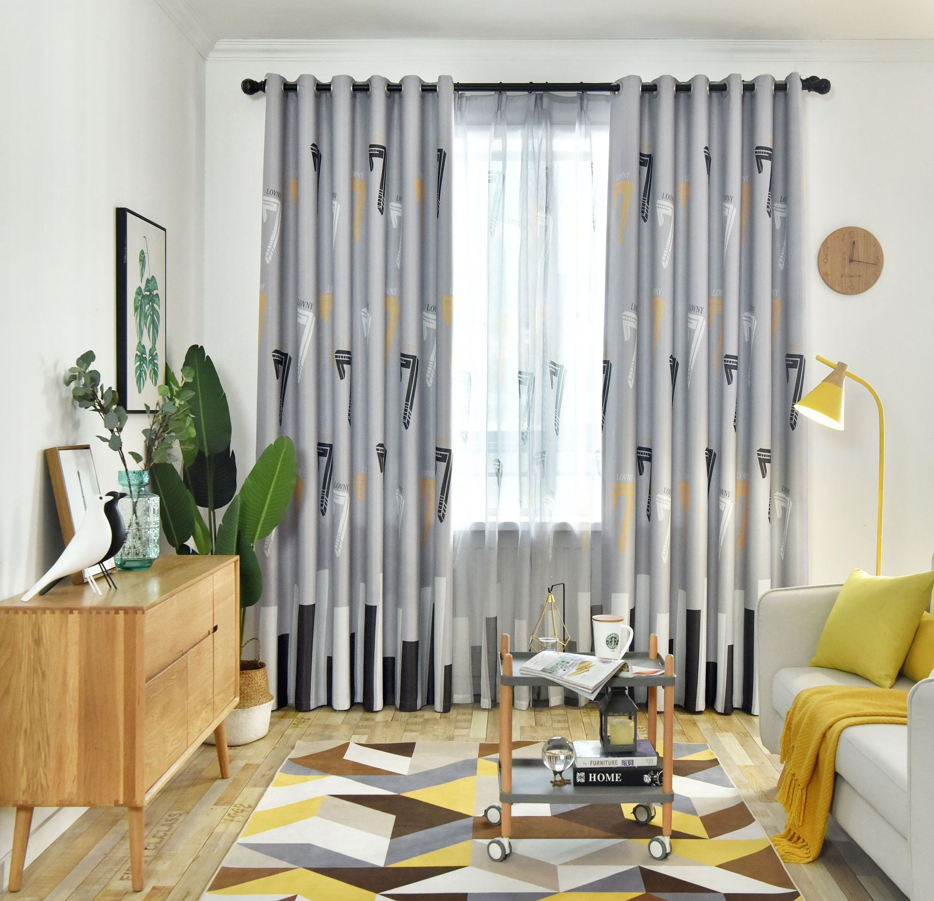 2020 Nordic Shading Finished Curtains For Bedroom Living Room Childrens Window Treatments Modern Blue Gray Curtain Tulle For Kitchen From Sophine08 20 39 Dhgate Com