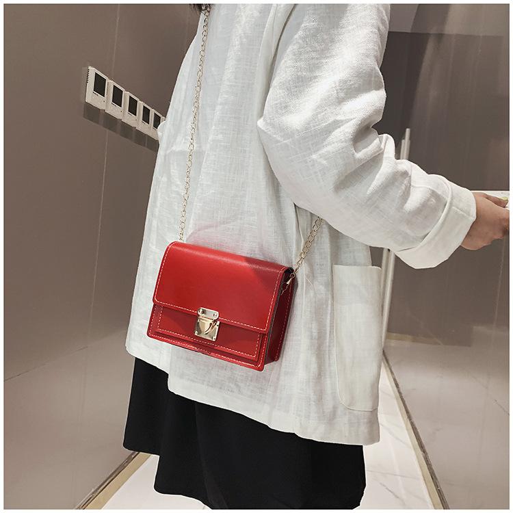 Square bag female bag shoulder bag Messenger bag chain bag NHXC177362