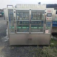 出售二手直线灌装机 12头灌装机  玻璃水矿泉水灌装机 低价现货