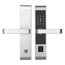 凯恩斯智能指纹锁 电子锁体 防盗门指纹锁 不锈钢指纹密码刷卡锁