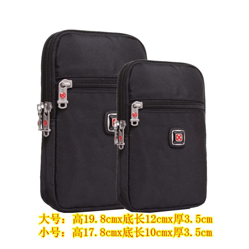 新品瑞士军刀男士手机腰包华为5.7寸6寸7寸手机包穿皮带挂包腰包