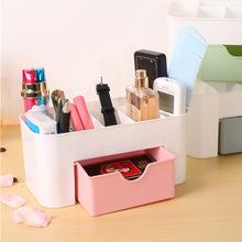 首?#20301;?#22918;品收纳盒抽屉式塑料办公桌面梳妆台护肤刷口红整理置物架