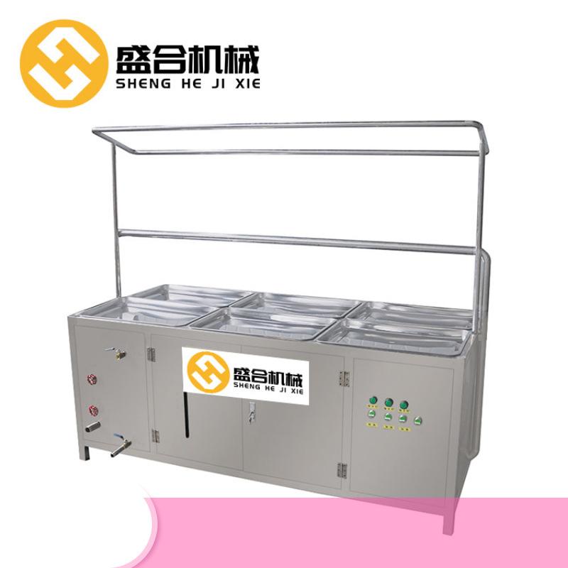 辽宁省沈阳酒店腐竹机批发厂家 盛合全自动腐竹油皮机械价格