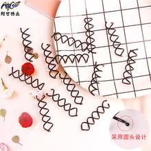 韩国发饰 美发螺旋夹 旋转造型发夹 盘发器 DIY丸子工具 2元批发