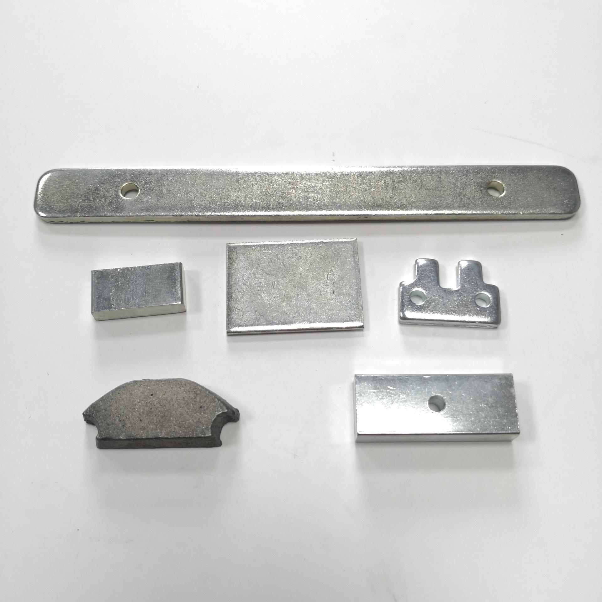 加重铁,冲压件,弹簧片,接触片,电池片,插头五金,各种材料