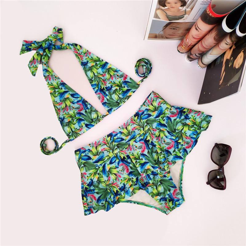Cotton FashionBikini(Picture color-S)Women Clothing NHWL0244-Picture-color-S
